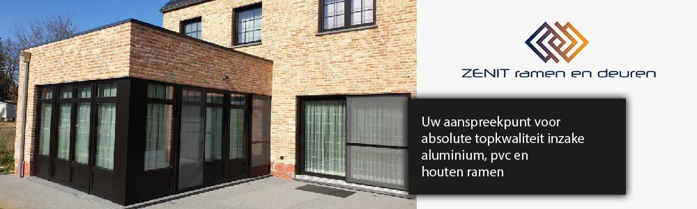 Ramen en deuren Leuven aluminium